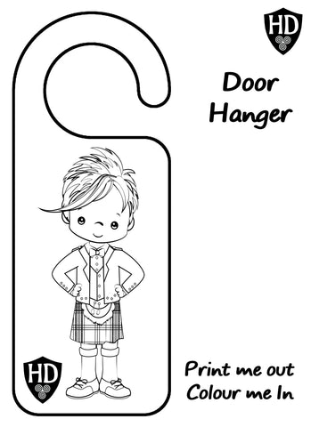 Colour In Door Sign (FREE Digital Down Load) #1a