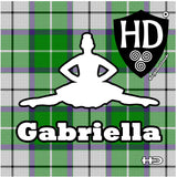 Medal Shields - The Highland Dancer - 33