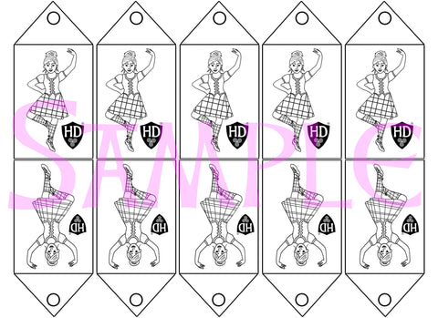 Colour in Gift Tags #1 (FREE Digital File)