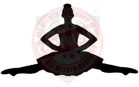 Girl Highland Dancer Decal #18