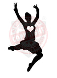 Girl Highland Dancer Decal #22