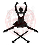 Girl Highland Dancer Decal #23