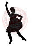 Girl Highland Dancer Decal #2