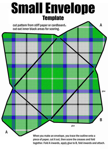 Tartan Envelope #3 - (FREE Digital Download)