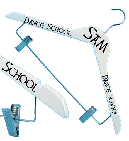 Dance School Kilt Coat Hangers - The Highland Dancer - 1