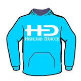 HD Logo with Highland Dancer words - Classic Hoodie - Adult