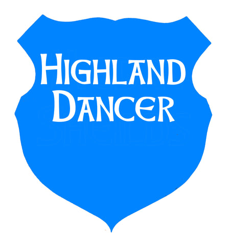 Medal Shields - The Highland Dancer - 1