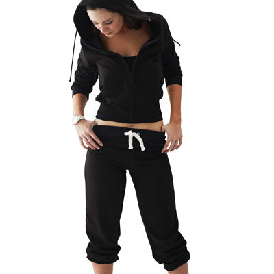 HD Cuffed Jog Pants - Ladies