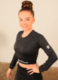 LONG SLEEVE CROP T - Ladies