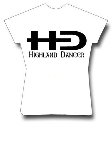 NEW HD Logo Highland Dancer