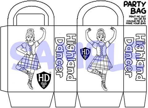 Colour in Party Bags (FREE Digital Download)