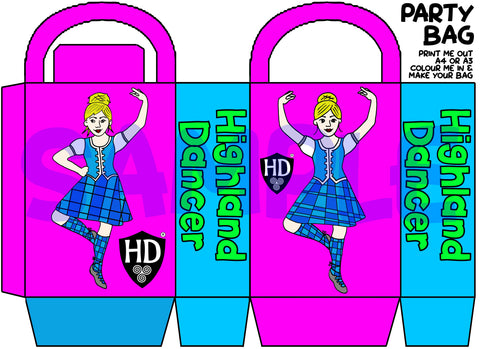 Full Colour Party Bags #1 (FREE Digital Download)