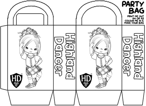 Colour in Party Bags 1a (FREE Digital Download)