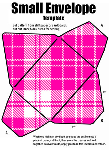 Tartan Envelope #4 - (FREE Digital Download)