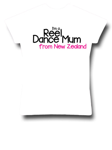 I'm a Reel Dance Mum from New Zealand