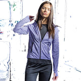 Ladies Zoodie with Reflective stripe down the sleeves - Ladies (Polyester)