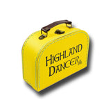 Yellow Retro Suitcase Small 21 x 10 x 7cm
