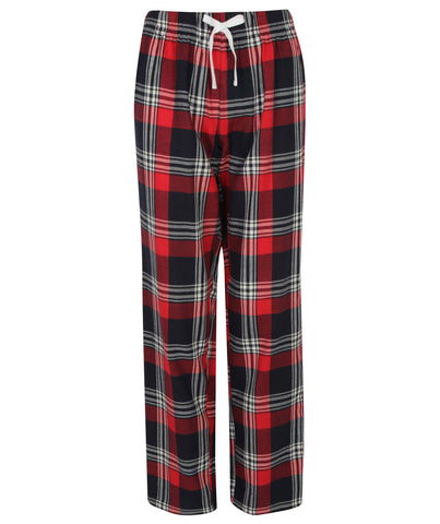 Tartan PJ Lounge Pants - Navy/Red - Ladies
