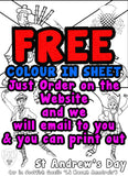 ST Andrew's Colour Sheet FREE Digital download!!! #1