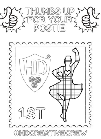 Stamp Colour Sheet FREE Digital download!!! #2