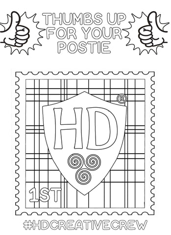 Stamp Colour Sheet FREE Digital download!!! #3