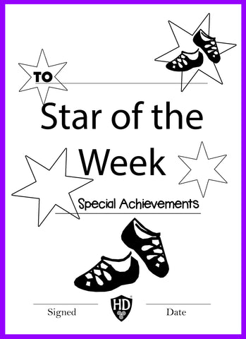 Star of the Week Certificate (FREE Digital Down Load) #2