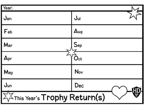 This Years Trophy Returns #1 (Free Digital Download)