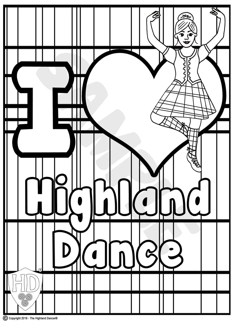 Event Colour In Sheets The Highland Dancer