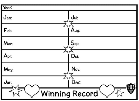 Winning Record #1 (Free Digital Download)