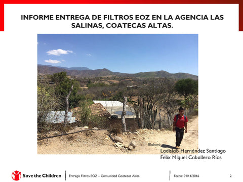 filtros-de-agua-rural-oaxaca-donativo-eoz-a-save-the-children-mexico