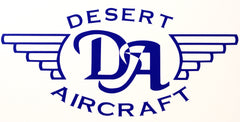Desert Aircraft Vinyl Stickers