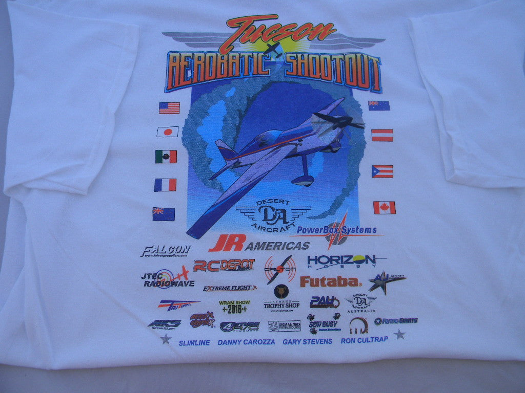 Tucson Aerobatic Shootout T - Shirts (click for options)