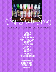 Shade Spray Multi- Use deodorizing spray (COMMON SCENTS)