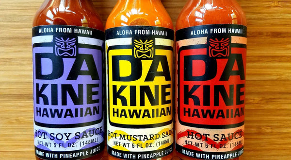 Da Kine Hawaiian Hot Sauce Collection