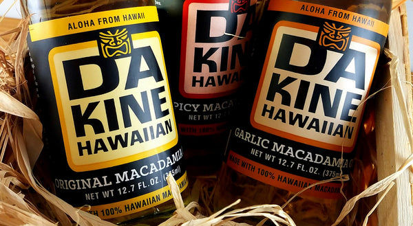 Da Kine Hawaiian Macadamia Oil Collection