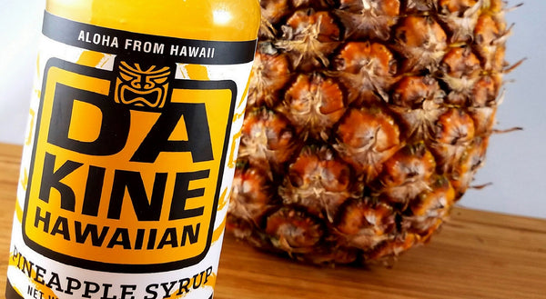 Da Kine Hawaiian Tropical Syrup Collection