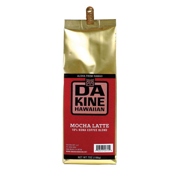 Da Kine Hawaiian10% Kona Coffee Blend Mocha Latte