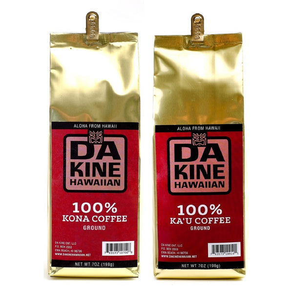 Da Kine Hawaiian 100% Kona & Ka'u Coffee Ground