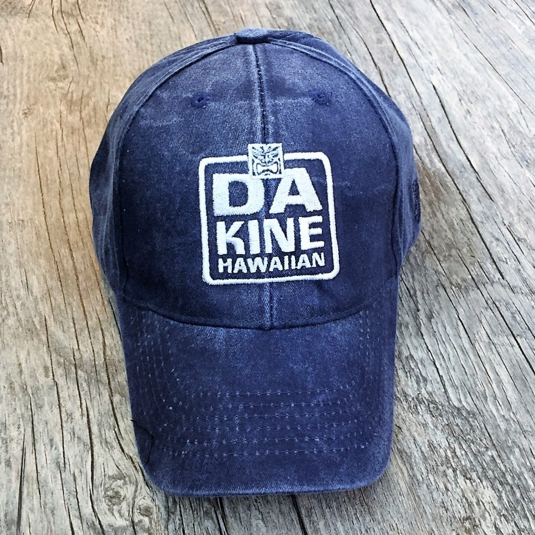 Da Kine Hawaiian Resort Hat - Navy Blue