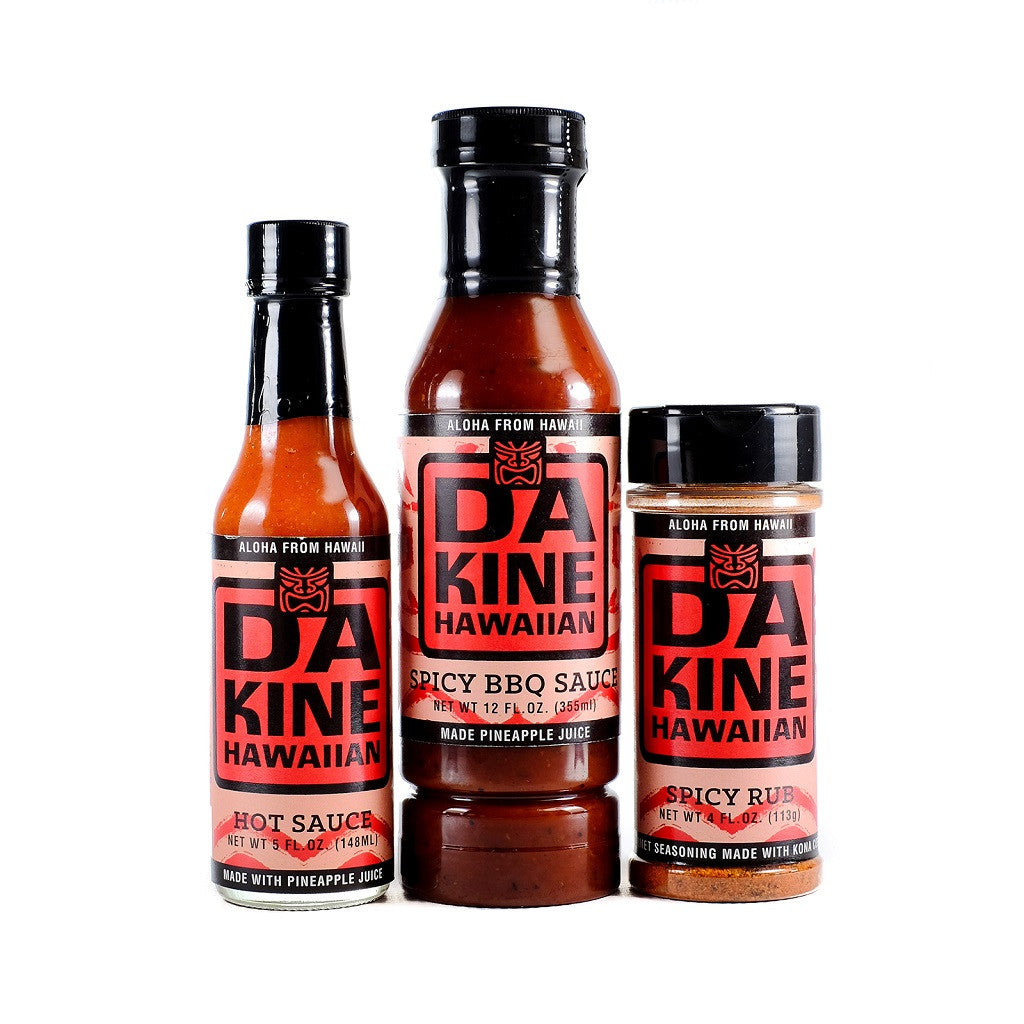 Da Kine Hawaiian BBQ Set Extra Spicy