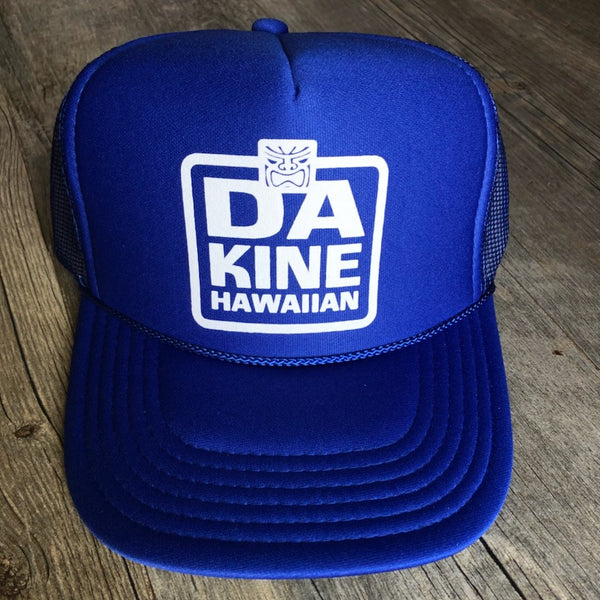 Da Kine Hawaiian Trucker Hat - Blue