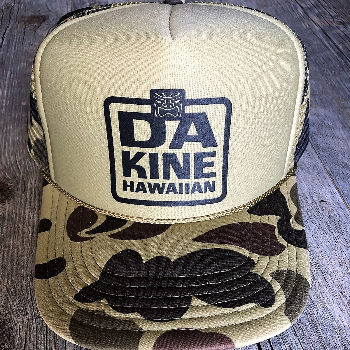Da Kine Hawaiian Trucker Hat - Camo