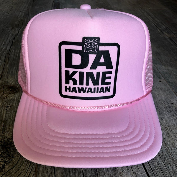 Da Kine Hawaiian Trucker Hat - Pink