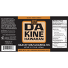 Da Kine Hawaiian Macadamia Oil Garlic Nutrition Facts and Ingredients