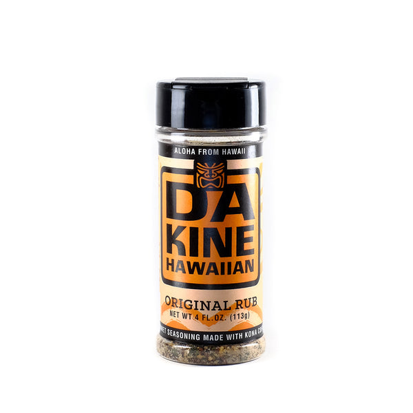 Da Kine Hawaiian Da Rub All Purpose Seasoning Original
