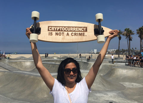 Not a Crime Longboard