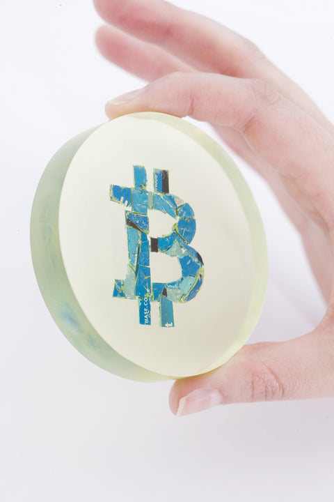 BTC Sculpture