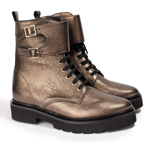Boots Lottie Metal Stone - Anaki Paris