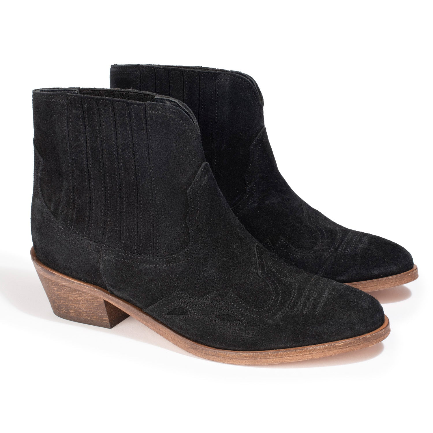 Bottines Carrie Noir - Anaki Paris
