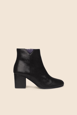 Bottines Virgin brillant noir Anaki Paris